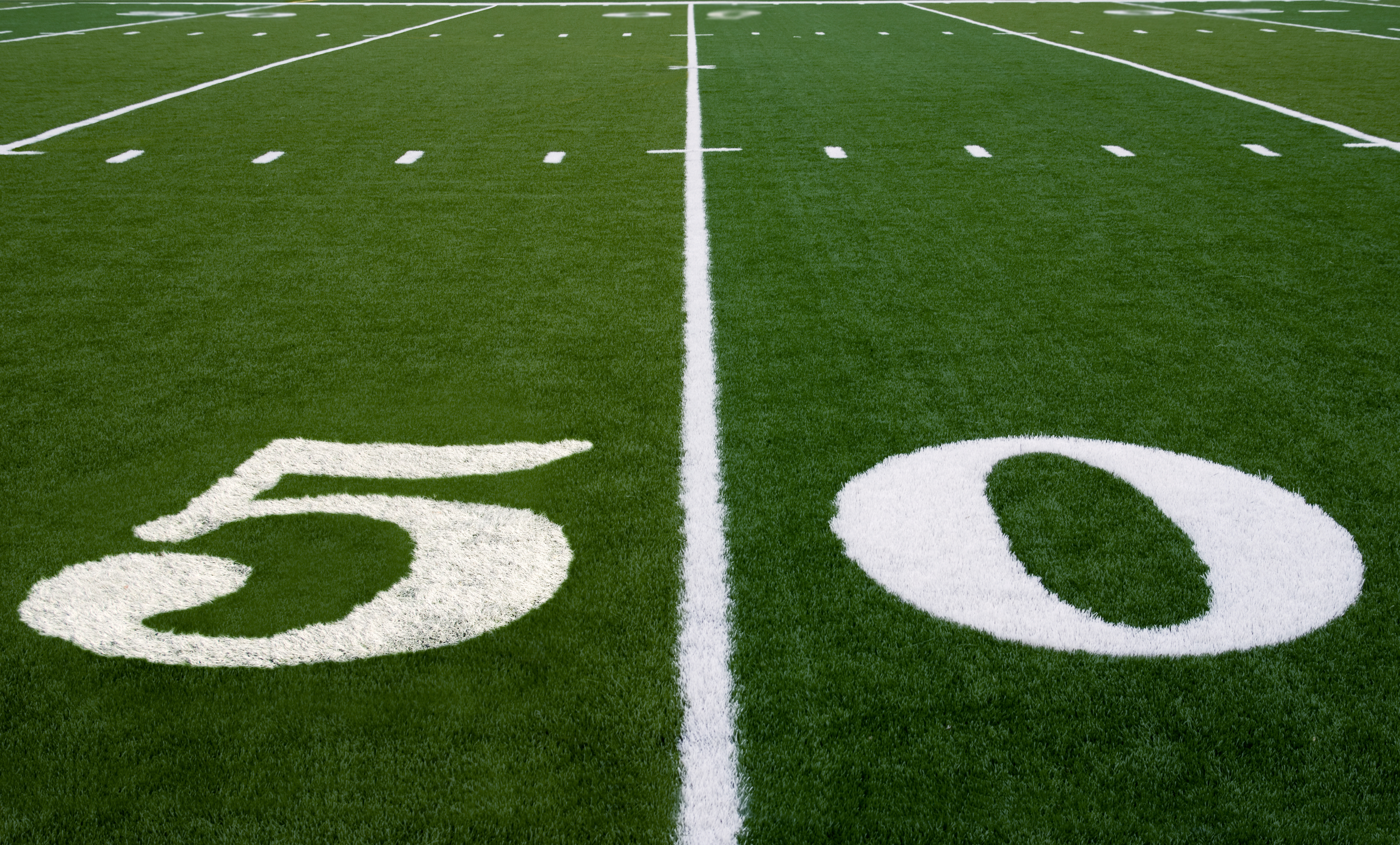 strengths vs weaknesses cardinals seahawks offenses bring much 50 yard line on an american football field