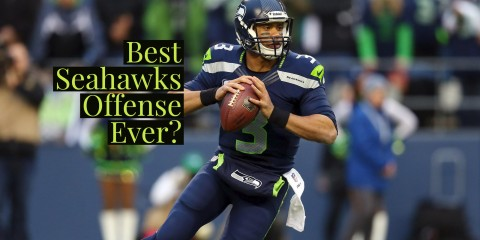Best Seahawks Offense Ever?