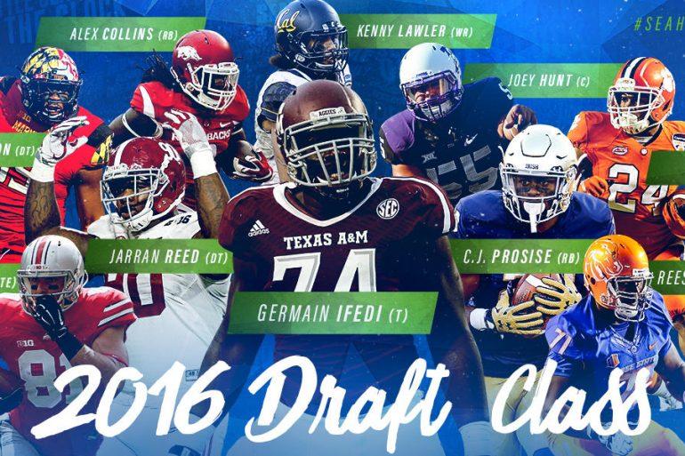 Seahawks 2016 Draft Picks